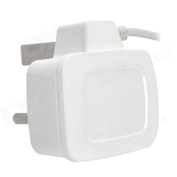 UK Plug Power Adatper w/ Cable for Samsung Galaxy Note 3 N9000 - White