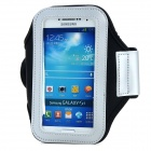 PVC + Nylon Protective Armband for Samsung Galaxy S3 i9300 / S4 i9500 - Black