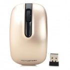 Motospeed G118 USB 2.0 2.4G Wireless Mouse - Golden (1 x AA)
