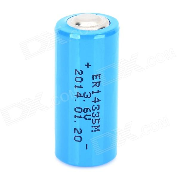 HongYang Disposable ER14335M 3.6V Li-ion Battery - Blue tp4056 1a li ion battery charging module blue 4v 8v