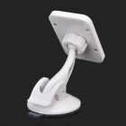 223 Universal Plastic Holder for Cellphone / Tablet PC - White + Black