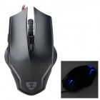 motospeed F60 USB 2.0 Wired Gaming Mouse - Black (Cable-140cm)