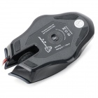 Motospeed F60 USB 2.0 Wired Gaming Mouse-Noir (Câble-140cm)