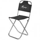 FLYINGBIRD Fd39 Outdoor Aviation Aluminum Folding Chair - Black + Silver