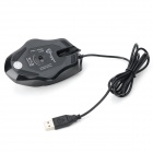 motospeed F11 USB 2.0 Wired Ergonomic Gaming Mouse - Black (Cable-120cm)