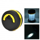 Camping Outdoor Pop-Up LED Flashlight Lantern - Black + Yellow (3 x AAA)