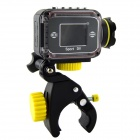 "F24B 1.5"" LCD 5.0 MP CMOS 1080P HD 140 Degree Waterproof Sports Camera w/ Wi-Fi - Black"