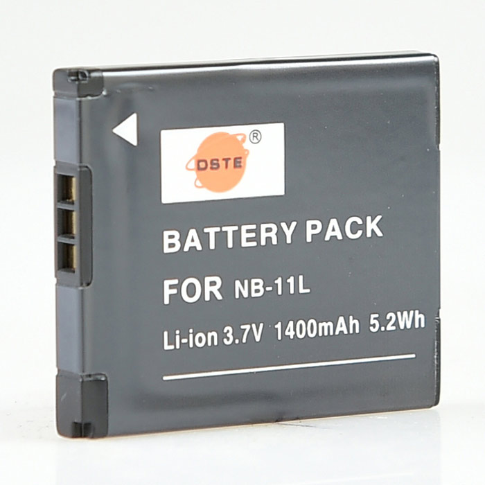 DSTE NB-11L 1400mAh Replacement Battery for Canon IXUS A2600, A3500, A4000IS, 125, 140, 240, 245HS