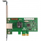 Winyao WYI210T1 PCI-E  X1 Server Gigabit Network Card Adapter w/ Intel I210T1 Chipset - Green