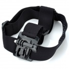 TOZ New Camera Fixed Headband w/ Mount Base + Long Screw for GoPro Hero2 / Hero3 / 3+ - Black