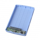 "De alta velocidade USB 2.0 Hard Disk Drive Enclosure Case for 2.5 ""SATA HDD - Azul (Max. 2TB)"