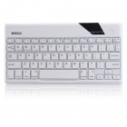B.O.W Super Slim Bluetooth V3.0 64-Key Keyboard for iOS / Android / Windows - White