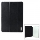 iSecret SSLCIP5XXBL Protective PU Cover + Crystal PC Case w/ Auto Sleep & Stand  for IPAD AIR