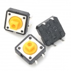 Touch Switches - Preto + Amarelo + Multicolorido (20PCS)