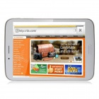 "Ampe A82 7.85 ""Dual Core 3G WCDMA Phone Tablet PC m / 512MB RAM, 8 GB ROM, Wi-Fi og GPS - Hvit"