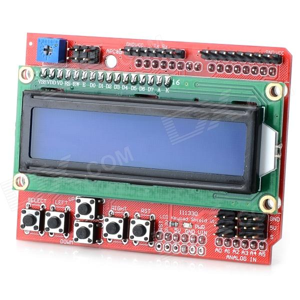 2.6 LCD Keypad Shield V2.0 LCD Extension Panel for Arduino (Works with Arduino Official Board) chiara deste сумка на руку