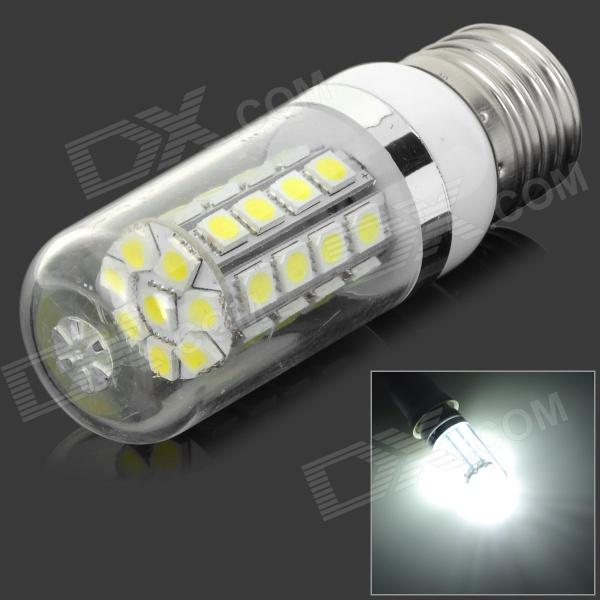 E27 5W 450lm 6500K White 36-SMD 5050 LED Light Bulb - Silver (AC 85~265V)