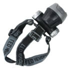 50-LED Super Headlamp Silver