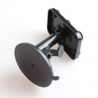 360 Degree Rotation Car Suction Cup Holder Bracket for IPHONE / Samsung / HTC / LG - Black