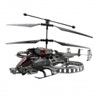 Brilink BH02 Rechargeable 4-CH Indoor R/C Helicopter w/ Gyro - Gray + Black