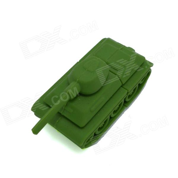 Tank Style USB 2.0 Flash Drive Disk - Green (16GB)