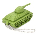 Tank Style USB 2.0 Flash Drive Disk - Green (8GB)