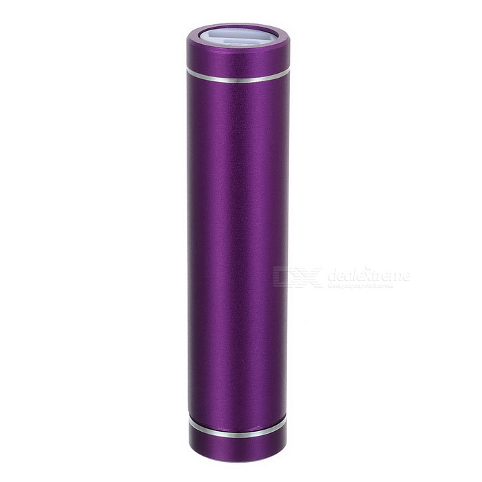 DIY GXSM-03 Portable Power Bank Case Enclosure for IPHONE / IPOD / HTC / Samsung -Purple (1 x 18650)