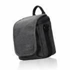 DSTE Canvas Camera Bag for NIKON j1 j2 j3 v1 SONY NEX-5t NEX-7 CANON EOS M M2 SX40 G16 Camera - Gray