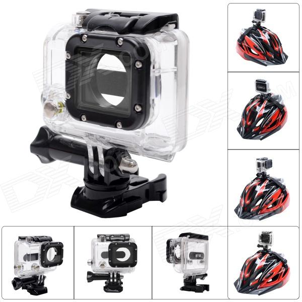 Fat Cat Advanced 360° Rotation 45M Waterproof Diving Housing Underwater Case for GoPro Hero3+ / 3