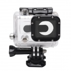 Fat Cat Rotation Waterproof Housing Case for GoPro Hero 3+ / 3 - Black