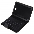 Samsung Galaxy Tab N5100 Note 8.0 Split Type Silicone Bluetooth Keyboard Case - Black