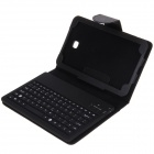 Samsung Galaxy Tab3 P320 Split Type Silicone Bluetooth Keyboard Holster - Black