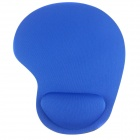 Memory Cotton Mouse Pad - Blue + Black