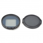Fat Cat 58mm Converter + CPL Filter Circular Polarizer Lens Filter for GoPro Hero3+ Housing - Black