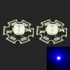HZLED 3W 50lm 450nm LED Blue Light Source Module - (3.2~3.6V / 2 PCS)