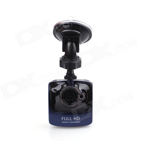 "Bpedh mini 2.13"" TFT HD 1.3 MP CMOS grand angle voiture enregistreur DVR w / 1-IR LED - noir"