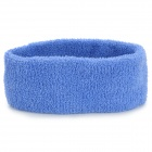 Sport Cotton Sweat Stirnband - Blau