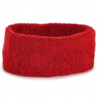 Sports Yoga Cotton Hair Band - Red