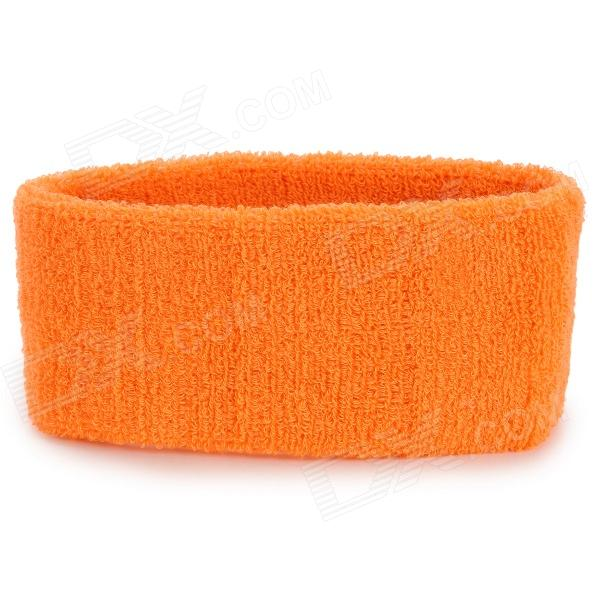 Sports Yoga Cotton Hair Band - Orange