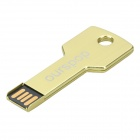 Key Style USB 2.0 Flash Drive Disk - Golden (8GB)