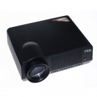 "EJIALE EPW58H 5.8"" Single LCD Panel HD Home Theater LED Projector w/ 2 x HDMI, USB, VGA, AV - Black"
