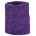 Sport Cotton Muñequera Wrap Support - Purple