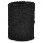 Sport Cotton Wrist Brace Wrap Support - Black