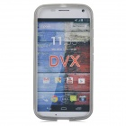 Protective TPU Back Case for MOTO G / MOTO DVX - Translucent Grey