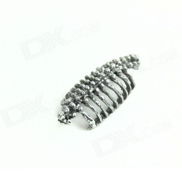 Cool Fashion Skeleton Ear Clip - Antique Silvery