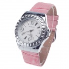 AODASI 4278L Stylish Women's Quartz Wrist Watch w/ Rhinestone Decoration - Pink + Silver (1 x LR626)