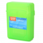 "Maiwo KP001 2.5"" SATA HDD Protective Shockproof Two Layer Storage Case - Grass Green"