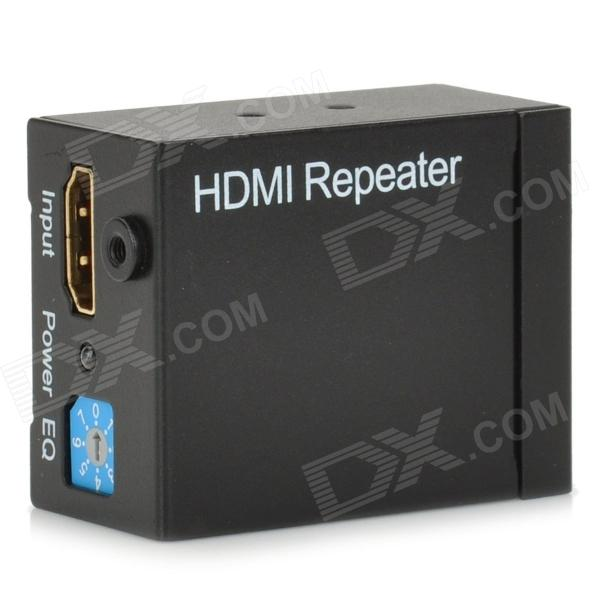 1080P HDMI V1.3 Amplified Extender/Repeater zy dt103a 492ft hdmi extender with ir over lan ip 1080p hdmi ethernet extensor 150m via cat5e cat6 rj45 cable like hdmi splitter