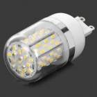 0138502 G9 6W 270lm 3000K 78-3014 SMD LED Warm White Light Corn Lamp - White (AC 85~265V)