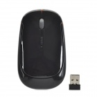 Promi MF-801 USB 2.0 2.4G Wireless Optical Mouse - Black + Orange